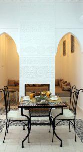 tavolo colazione riad el arco marrakech