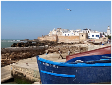 vista della città di Essaouira