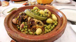 piatto con cous cous marocchino