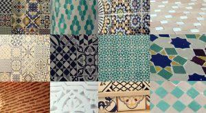 materiali piastrelle riad el arco marrakech