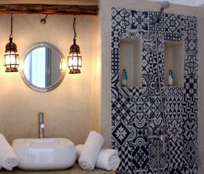 doccia e lavabo riad el arco marrakech