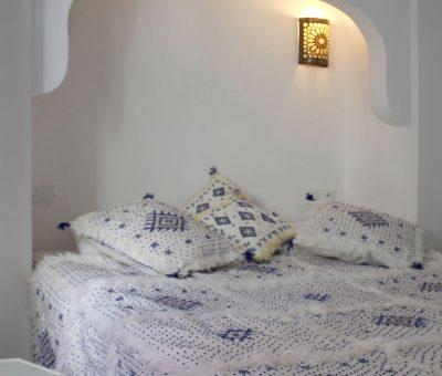camera da letto riad el arco marrakech