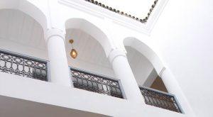facciata con archi riad el arco marrakech